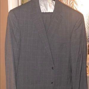 Other - Custom grey plaid suit